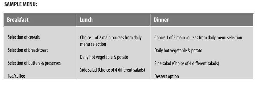 menu ejemplo