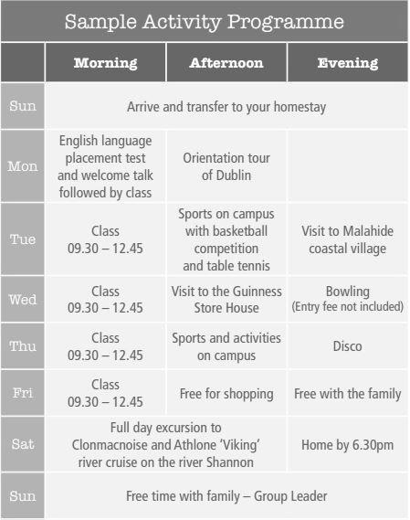 programa actividades mercy college